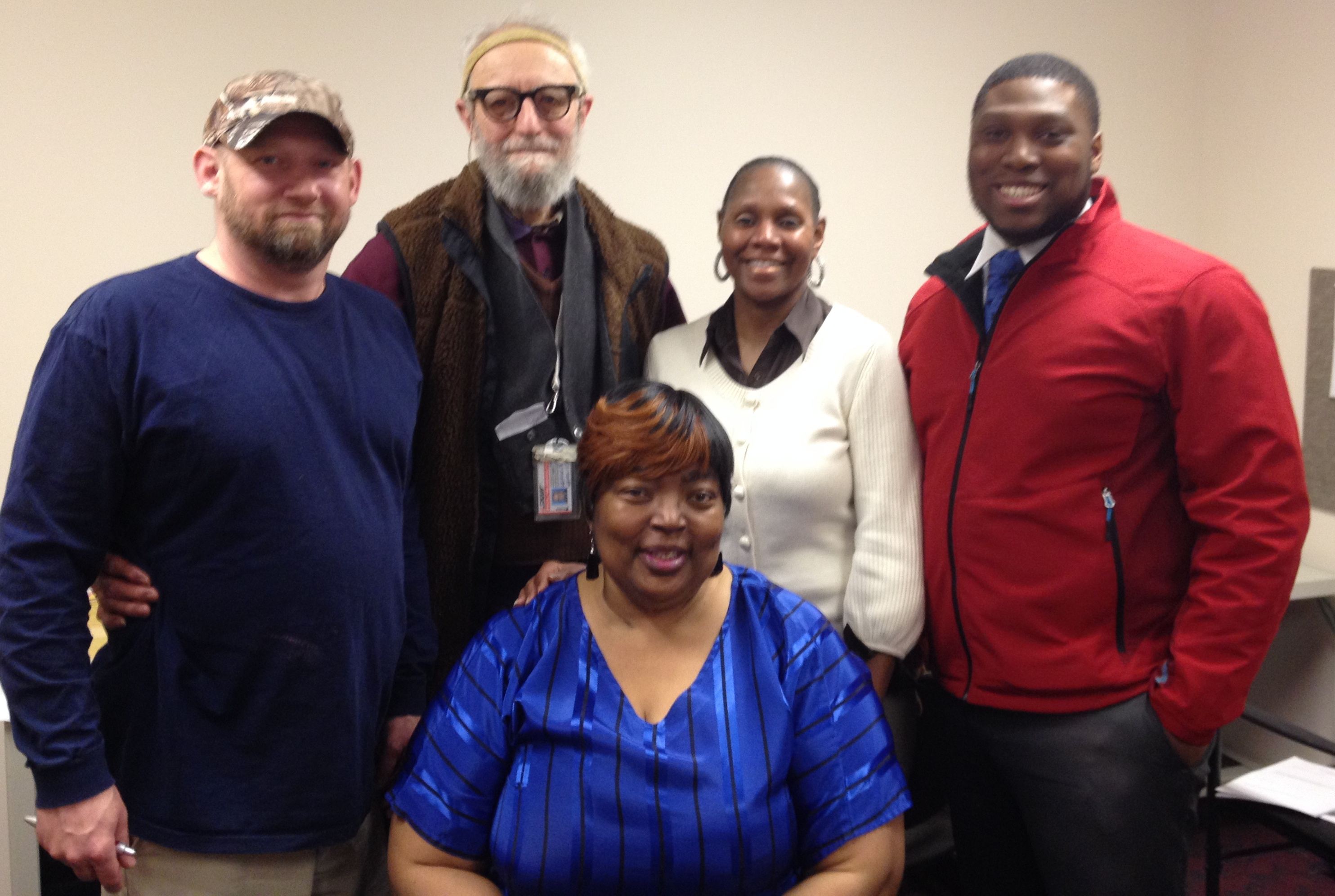 Bill Fred Phyllis Jerome & Diane at a recent New Member Orientation